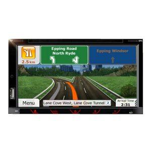 7″ Doppel-DIN In Dash Wohnmobil Sat Nav & FM, DVD, Bluetooth