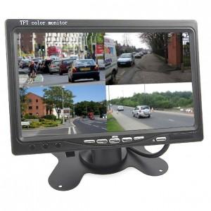 7 Zoll Monitor mit 4  Videoeingängen