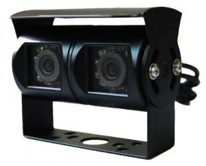 Doppel Rückfahrkamera in schwarz