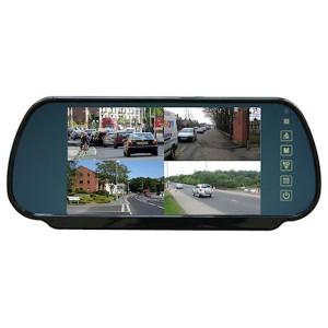 Spiegel mit 4  Videoeingängen