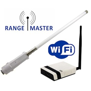 Rangemaster Long Range WiFi-Antenne und Router