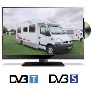 19 Zoll Camping Fernseher DVB-T und DVB-S Satelliten